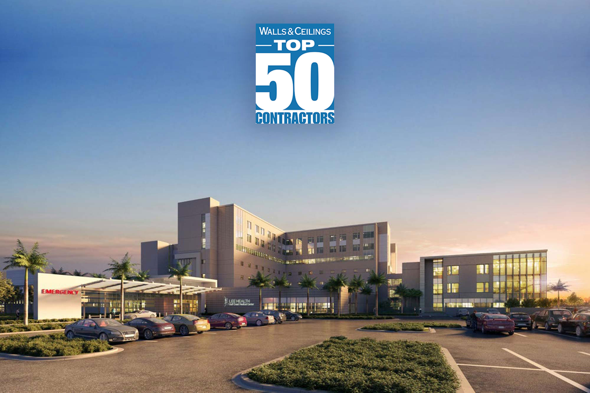 NAMED TOP 50 SPECIALTY CONTRACTOR